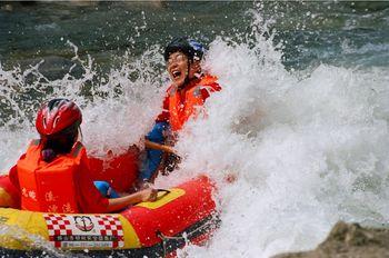 【秭归县】九畹溪漂流(含漂流艇、头盔、救生衣、划桨)成人票-美团