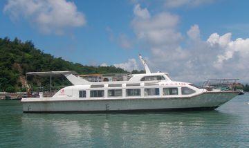 【海陵岛/闸坡】闸坡渔港游船马尾岛海上观光(成人票)-美团