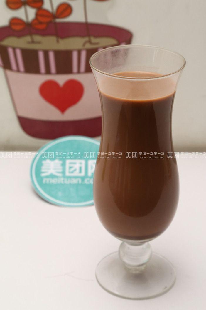 黑巧克力奶茶