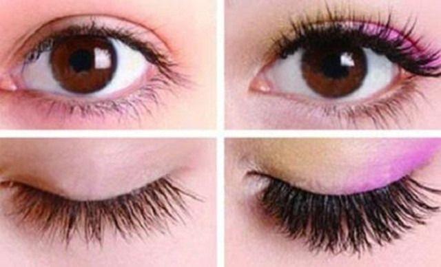 彩铅手绘眼睛睫毛