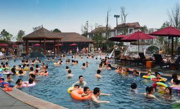 【大竹县】海明湖温泉水世界6月儿童月门票成人票-美团