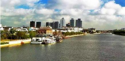 【盘门】苏州古运河(新市桥码头)夜场船票(双人票)-美团