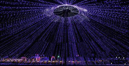 【龙安区】印象龙安灯光节-美团