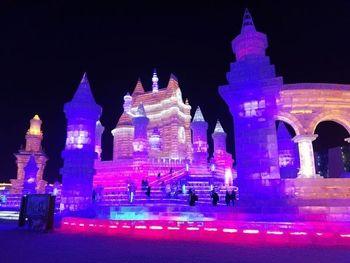 【碑林区】陕西会客厅冰雪大世界门票家庭票2大1小-美团