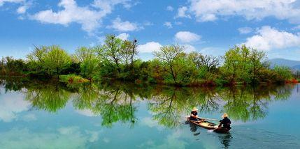 【余杭区】西溪湿地洪园(龙舌嘴入口)-美团