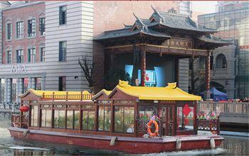【洪山区】东湖游船汉街中心码头特价门票双人票-美团