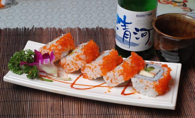 :长沙今日团购:【鲜目录熟料寿司】25元代金券1张,全场通用,可叠加使用