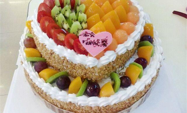 惠州两层生日蛋糕团购