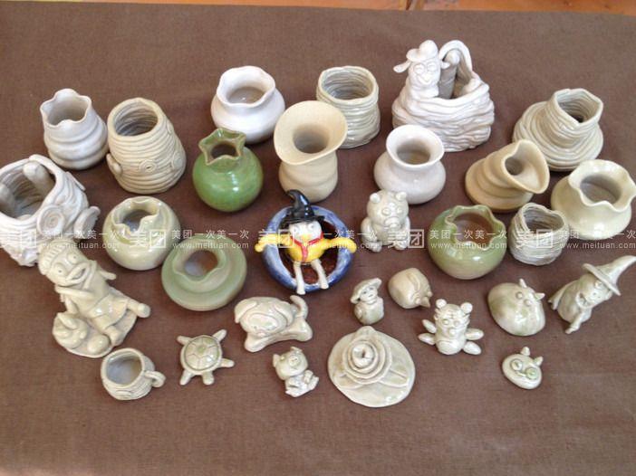 儿童陶艺diy:通过手工捏制自己想要做的动物