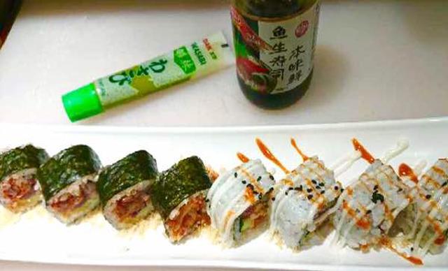 :长沙今日钱柜娱乐官网:【夏目外带寿司】混搭寿司1份