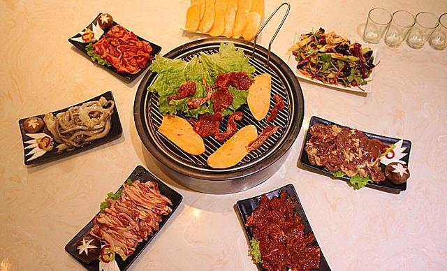 【太平】鲜族烤肉套餐2选1,包间免费,提供免费WiFi