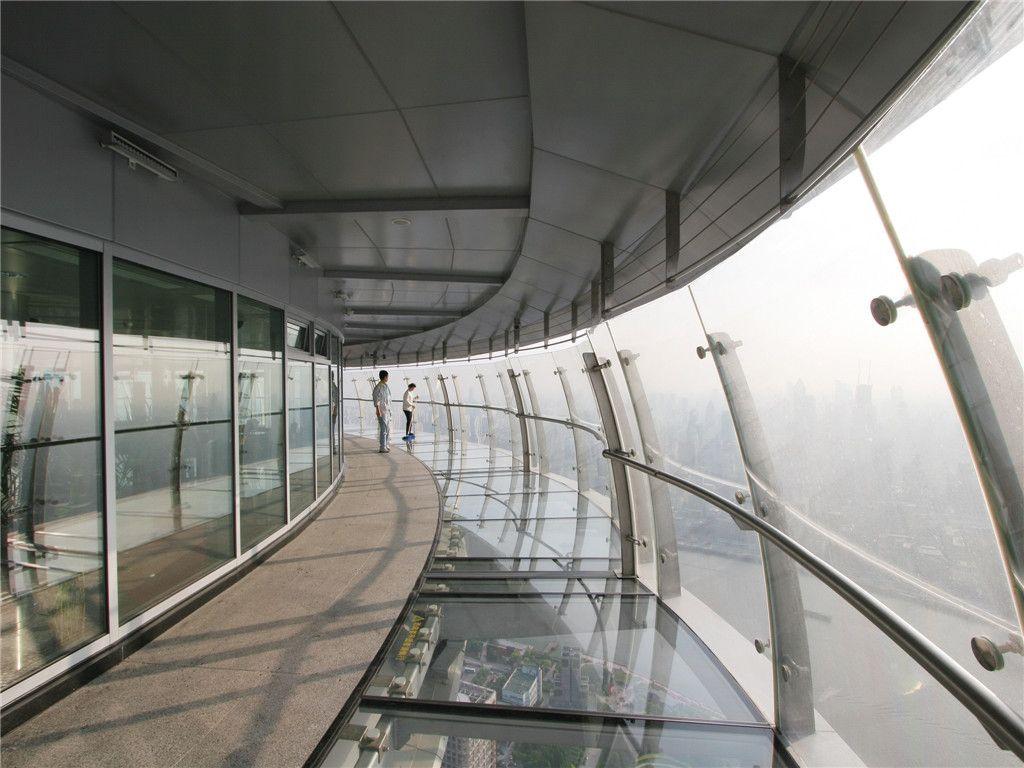 东方明珠塔玻璃走廊_东方明珠太空舱图片