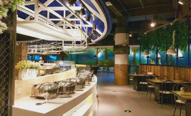 梦幻岛自助餐厅梦幻岛自助晚餐,提供免费WiFi