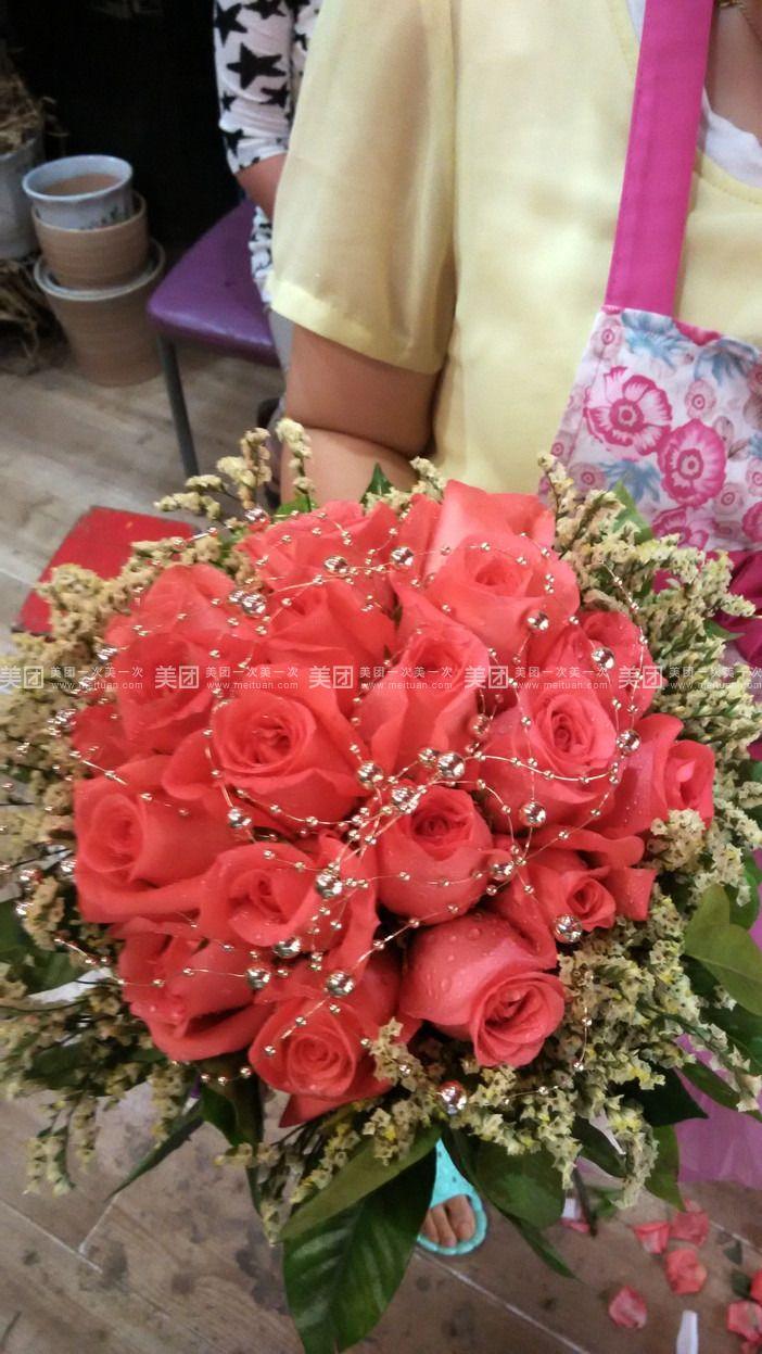 微信淡雅花朵头像 玫瑰
