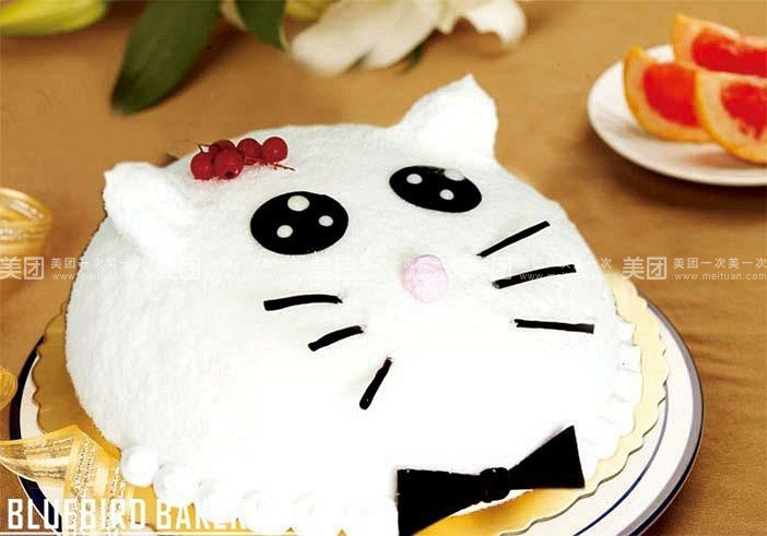 【北京天母蓝鸟烘焙团购】天母蓝鸟可爱猫团购|图片