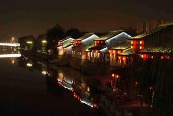 【武林广场】杭州运河夜游-美团
