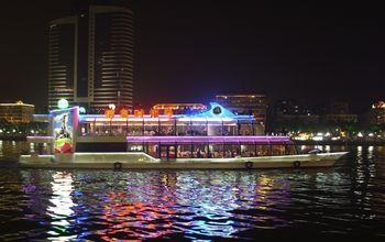 【天河区】广州之星星之游轮-海心沙码头19:10场一层普通座+咖啡成人票-美团