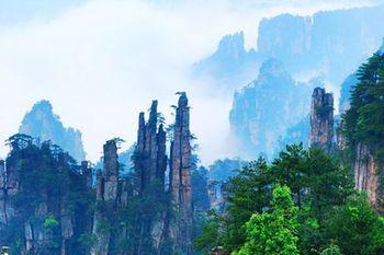 【长沙出发】张家界国家森林公园、黄龙洞旅游区、金鞭溪等3日跟团游*张家界全景三日游-美团