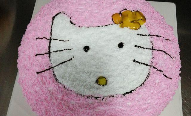 :长沙今日团购:【阳光蛋糕】10英寸卡通KT猫等、三公里免费送货上门,1,约10英寸,