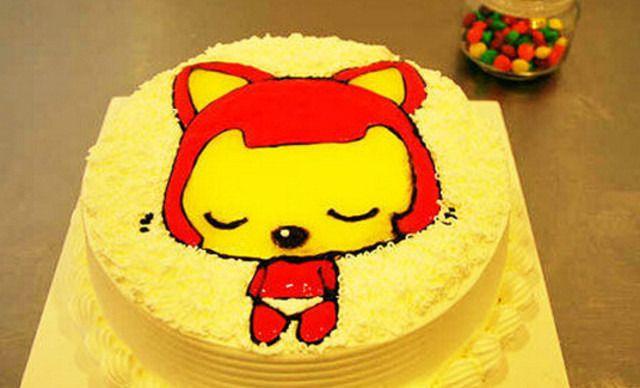 03 大连蛋糕 6寸团购   6寸奶油蛋糕(动物动奶)1个,提供免费wifi ¥
