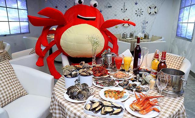 【凯德广场】深海霸煮海鲜自助餐厅单人海鲜自助,提供免费WiFi
