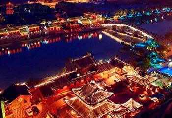 【武林广场】京杭大运河夜游船票(19:30开船)成人票-美团