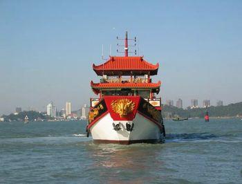 【中山路/轮渡】厦门鹭江夜游轮渡码头船票(成人票)-美团