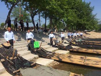 【岩头】楠溪江竹筏漂流小港码头门票成人票-美团