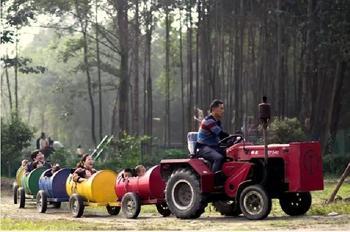 【新津县】古藤堡·疯狂农场门票亲子票(1大1小)-美团