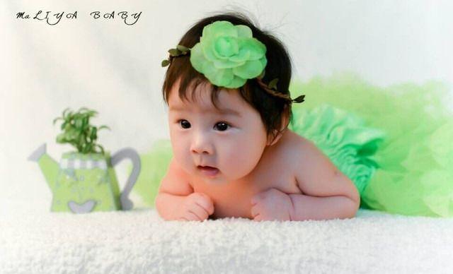 济南宝宝百天照图片