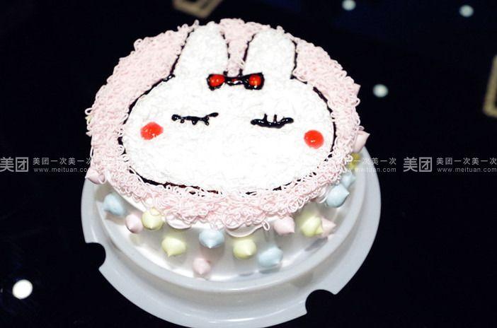 可爱的小孩蛋糕图片