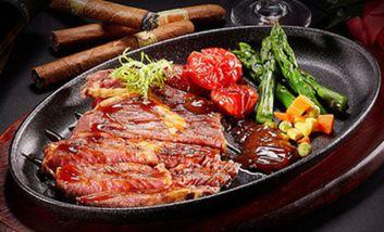 【德宏】台北帮厨牛排沙拉吧-美团