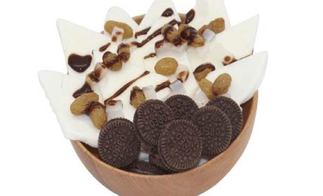 :长沙今日团购:【金木槿炒酸奶卷】可可炒酸奶块1份,提供免费WiFi