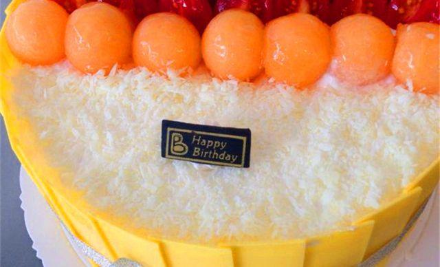 【2店通用】焙甜生活蛋糕4选1,约10英寸,圆