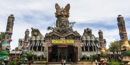 【其它】千古情浪浪浪水公园+彩色动物园成人票-美团