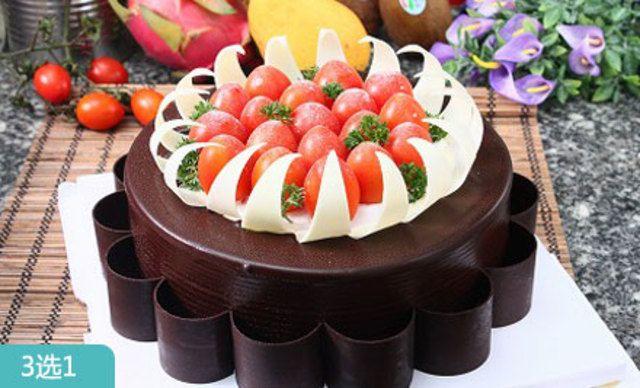 美味蛋糕3选1,甜蜜分享