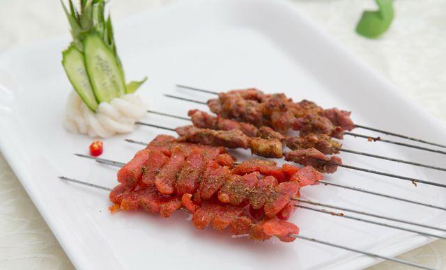 3人餐,无需预约,品尝烤出来的串串美味