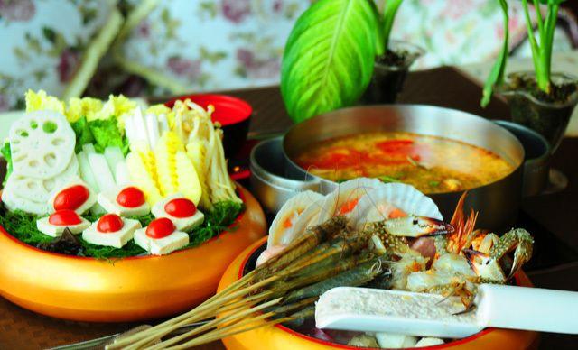泰式海鲜火锅大锅4-5人餐,无需预约,美味共享