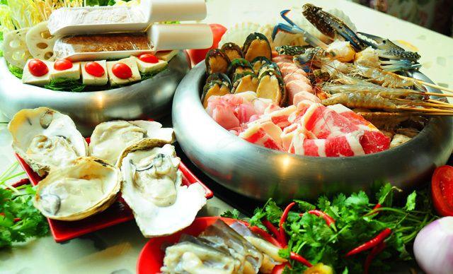 泰式海鲜火锅VIP大锅,美味挡不住,欢乐齐分享