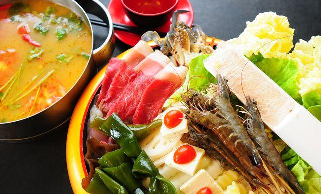 泰式海鲜火锅中锅2-3人餐,无需预约,美味同享