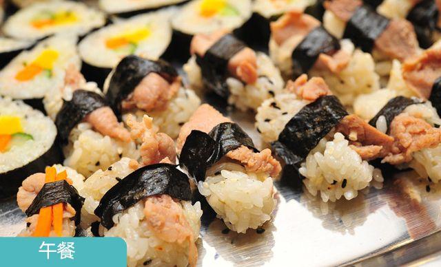 单人自助午餐,无需预约。打造美味的韩国风味儿