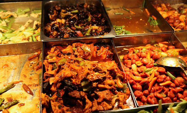 美佳乐快餐单人餐,延安三路 美团网青岛站 高清图片