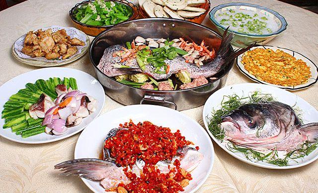 8人餐,鱼身六大部位独立吃法开创美食先河,免费WiFi