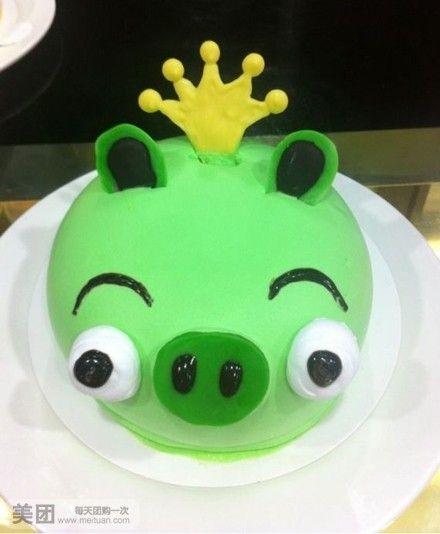 45千克  猪头蛋糕 愤怒的小鸟 叮当猫 商家介绍 零帕甜品