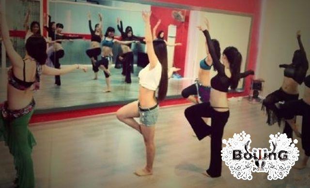 舞蹈课程3次,5种项目可选