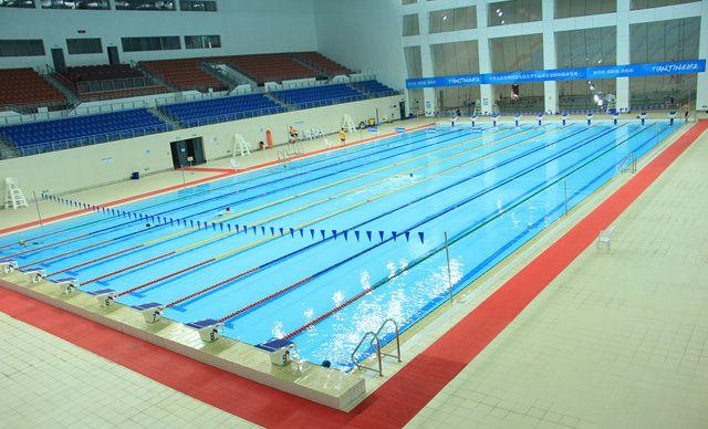 单人游泳1场。泳池暖气全面开放,池水常年恒温27ºC