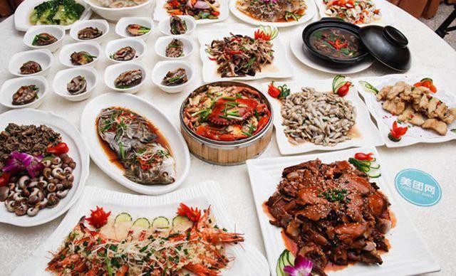 10-12人餐,提供免费WiFi,地道福建霞浦滩涂海鲜