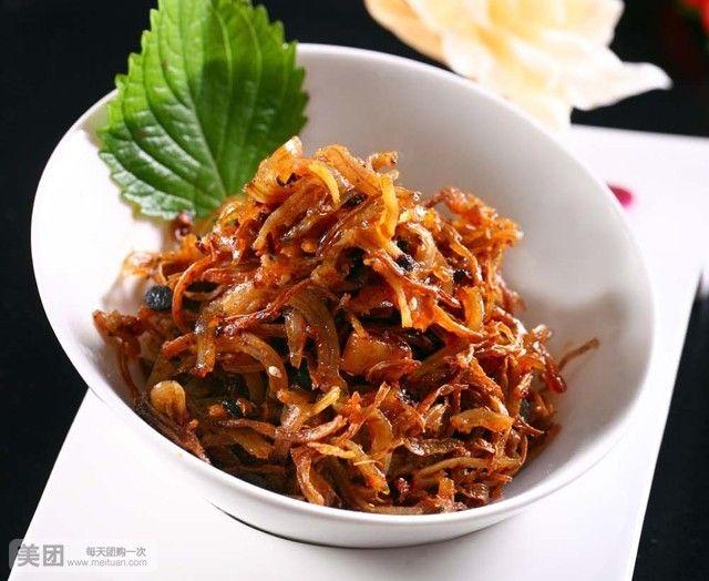 茶树菇丁香鱼