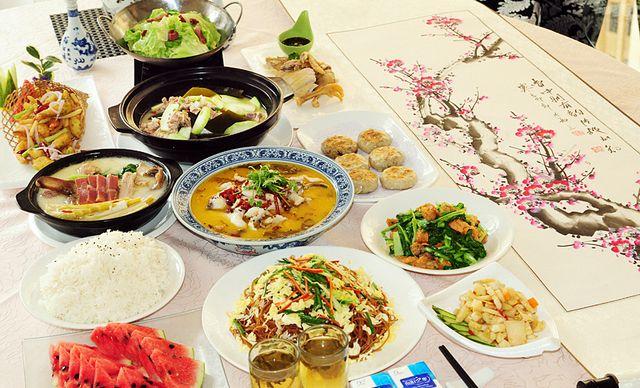 6人套餐。美食美事,一种家的味道,在印象江南