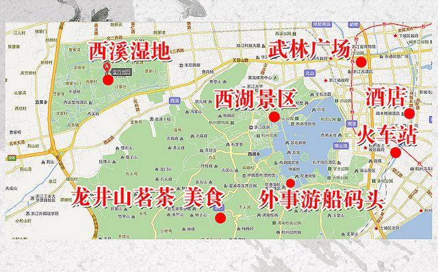 西湖游船_杭州_百度地图